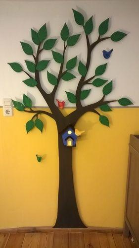 Makerist - Wanddekoration Baum fürs Kinderzimmer mit Nachtlicht - DIY-Projekte - 1