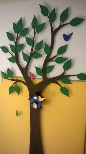 Makerist - Wanddekoration Baum fürs Kinderzimmer mit Nachtlicht - DIY-Projekte - 2