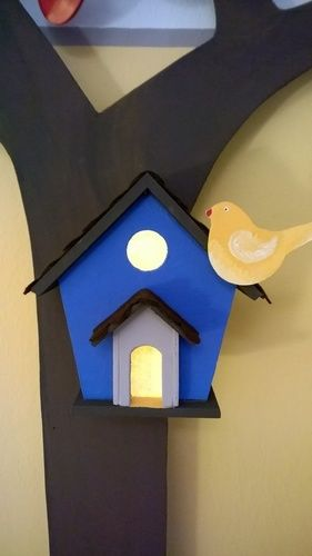 Makerist - Wanddekoration Baum fürs Kinderzimmer mit Nachtlicht - DIY-Projekte - 3