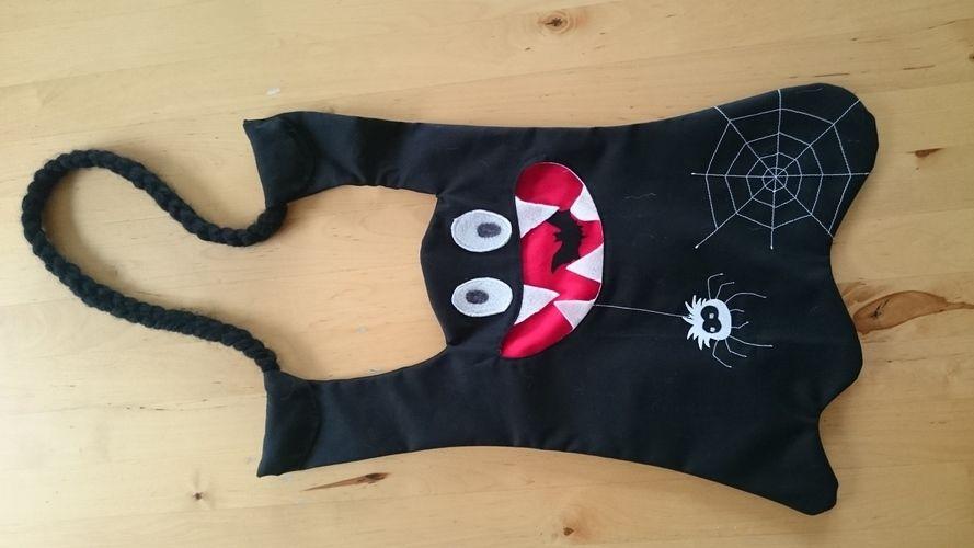 Makerist - Halloween Geister Tasche  - Nähprojekte - 1