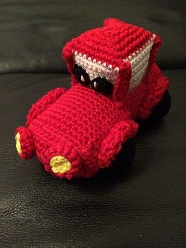 "Makerist - Rotes ""Cars"" Auto - Häkelprojekte - 1"