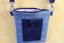 """Makerist - Tasche """"Meret"""" Schnitt von min ziari aus Glitzer-Baumwolle und Kork - 1"""