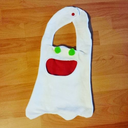 Makerist - Geisterbeutel für Halloween-Naschkram - Nähprojekte - 1