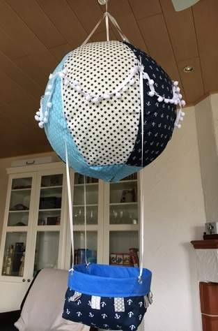 Makerist - Adventskalender Heißluftballon  - 1
