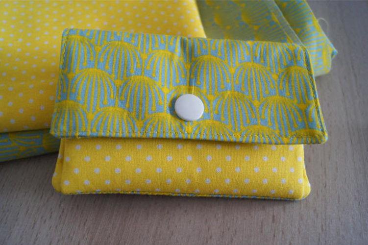 Makerist - Kleines Portemonnaie mit Innenfächern - Nähprojekte - 1