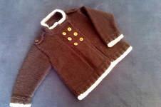 Makerist - Babyjacke mit Schulterklappen - 1