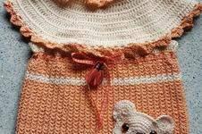 Makerist - Baumwollkleidchen mit Bärentasche - 1