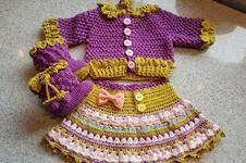 Makerist - Babyhäkeljacke Himbeere - 1