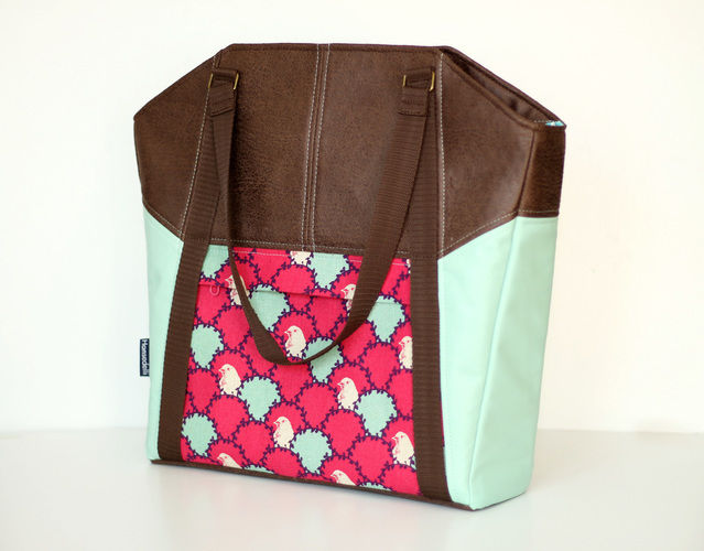 "Makerist - Tasche ""Lexa"" von Hansedelli - Nähprojekte - 1"