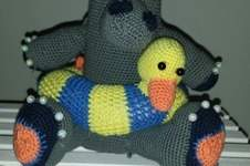 Makerist - Nilpferd mit Schwimmreifen  - 1