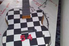 Makerist - E-Gitarren Torte in Originalgröße  - 1