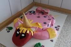 Makerist - Deadpool-Einhorn-Torte - 1