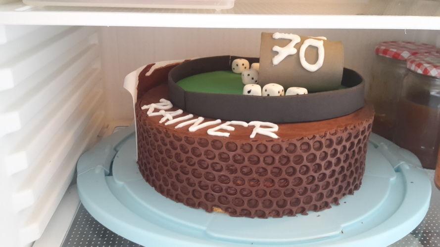 Makerist - Torte zum 60.igsten - Torten, Cake Pops und Cupcakes - 2