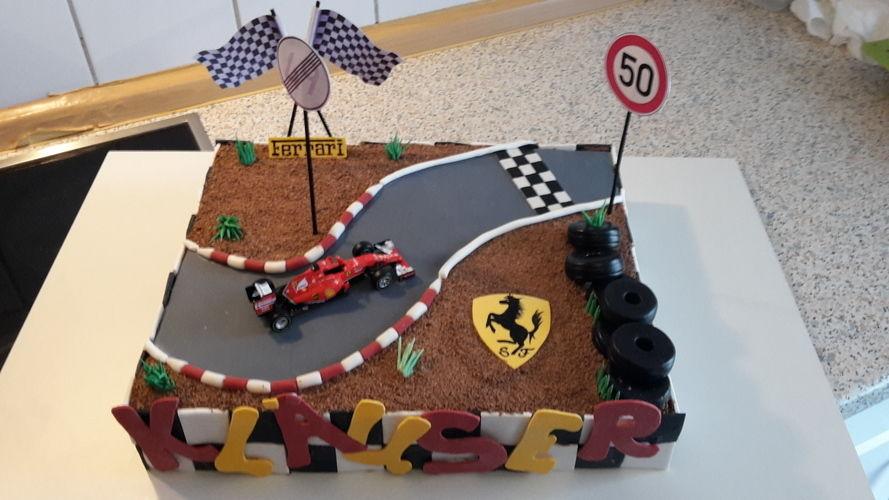 Makerist - Ferrari-Torte - Torten, Cake Pops und Cupcakes - 3