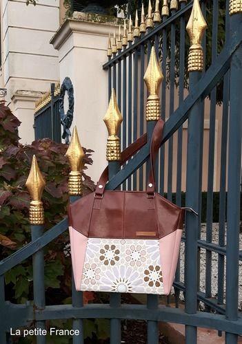 Makerist - Tasche LEXA nach Hansedelli - genäht von La petite France - Nähprojekte - 1