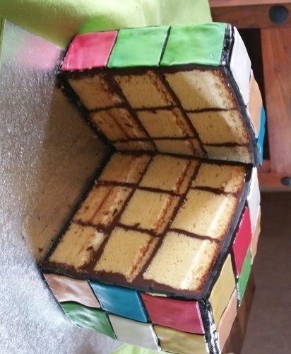 Makerist - Zauberwürfel mal zum aufessen - Torten, Cake Pops und Cupcakes - 3