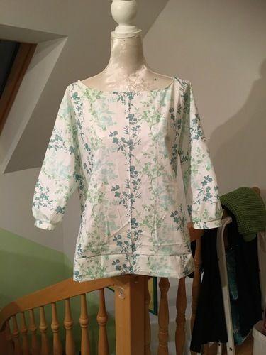 Makerist - Eine Bluse  - Nähprojekte - 1