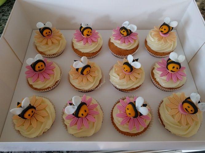 Makerist - Bienen Cupcakes - Torten, Cake Pops und Cupcakes - 1