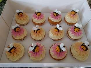 Makerist - Bienen Cupcakes - 1