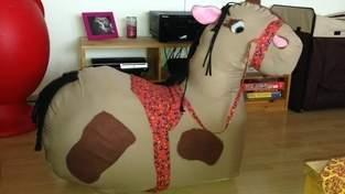 Makerist - Beni- meine Tochter wünschte sich ein braunes Pferd, das ganz schnell reitet😉 - 1