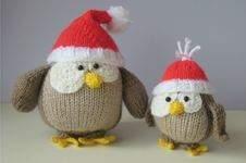 Makerist - Festive Owls - 1