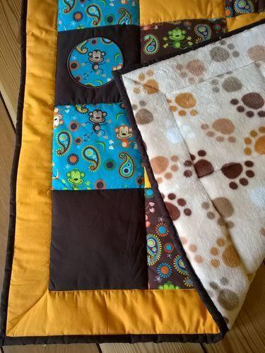 Makerist - Meine erste Patchworkdecke - für meinen Sohn - Patchwork-Projekte - 2