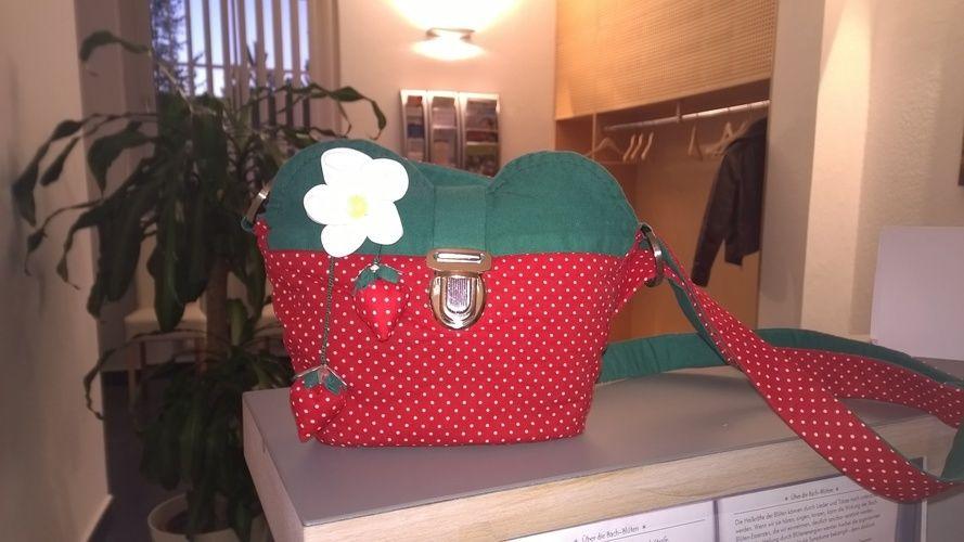 Makerist - kleine Erdbeertasche - Nähprojekte - 1