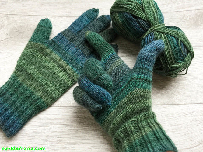 Makerist - Fingerhandschuhe Nr.1 - Strickprojekte - 2