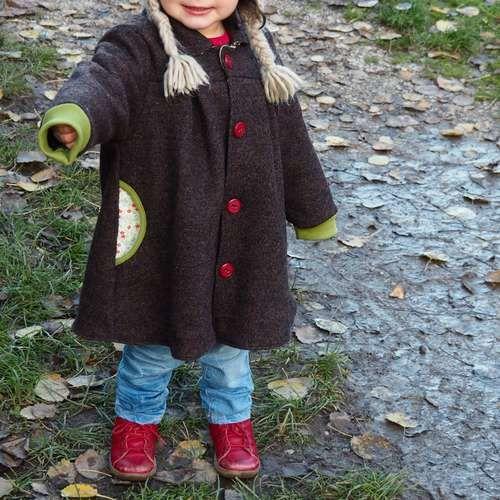 Makerist - Der 'Gretchen'-Mantel von Madame Jordan aus Wollwalk  - Nähprojekte - 1