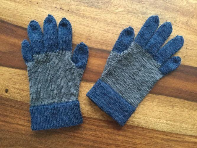Makerist - Herrenhandschuhe - Strickprojekte - 1