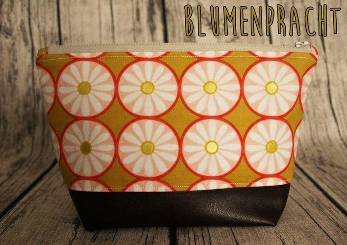 Makerist - Kosmetiktasche mit Kunstleder - Nähprojekte - 1