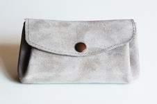 Makerist - Porte-monnaie en cuir et en shweshwe - 1