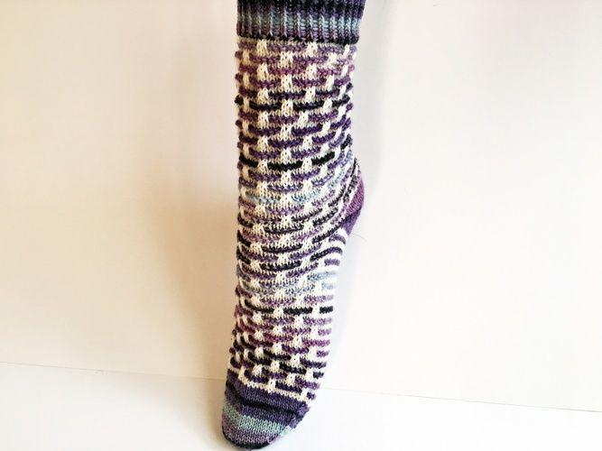 """Makerist - Socken """"Stephie"""" - Strickprojekte - 1"""