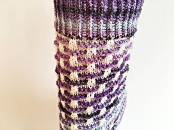 """Makerist - Socken """"Stephie"""" - Strickprojekte - 2"""