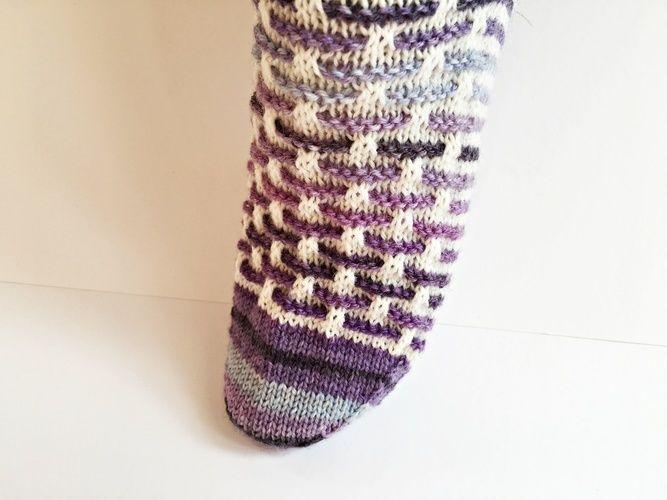 """Makerist - Socken """"Stephie"""" - Strickprojekte - 3"""