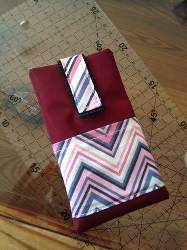Makerist - Tasche in Nylon/Baumwolle mit Handytasche  - Nähprojekte - 2