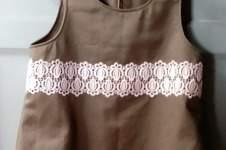 Makerist - Mini Shift Dress with lace trim - 1