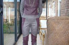 Makerist - ensemble pantalon high tech de ligne futuriste. J'ai utilisée du simili cuir très souple, et cest pour moi - 1