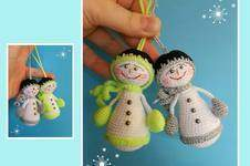 Makerist - Amigurumi Schnee Männchen - 1