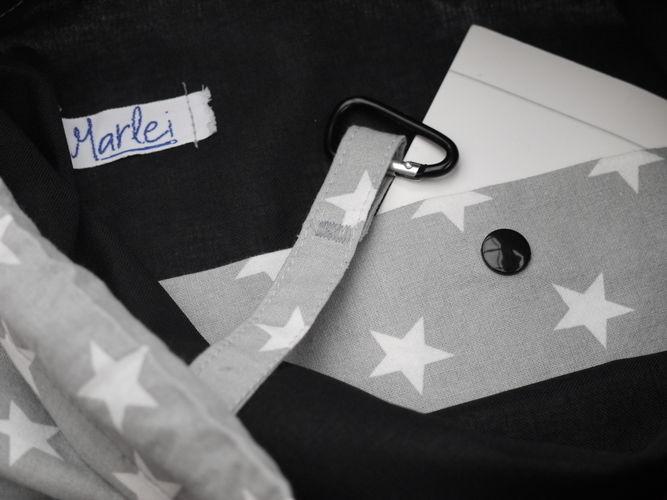 Makerist -  Rucksack * Sterne  * - Nähprojekte - 2