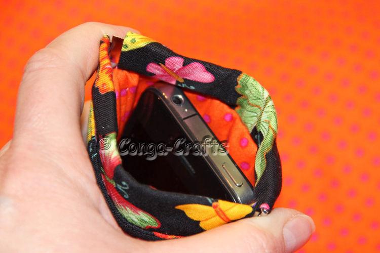 Makerist - Schnappverschluss-iPhone-Tasche - Nähprojekte - 2