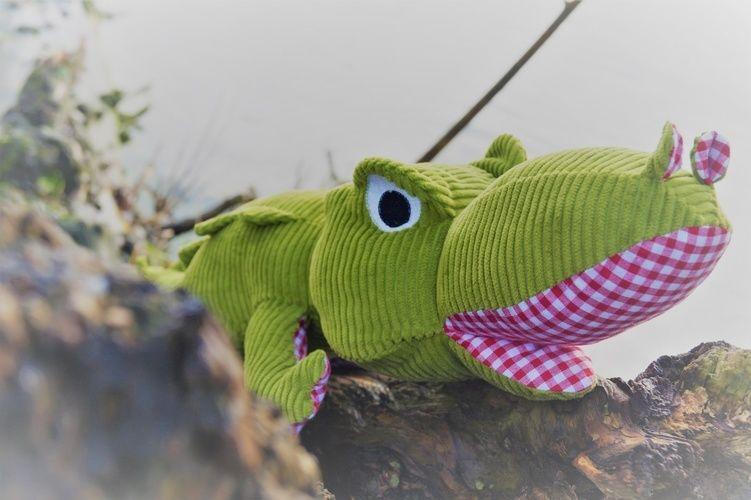 Makerist - Krokodil von Aleksio - Nähprojekte - 2