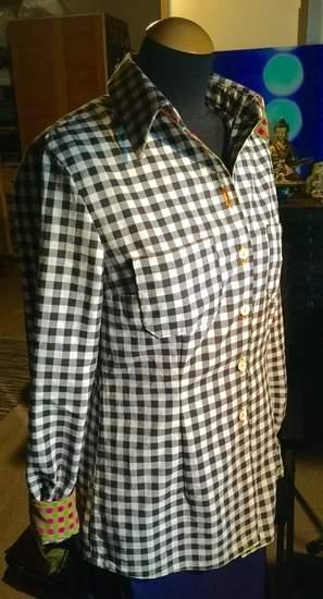 Makerist - alles andere als kleinkariert: meine erste bluse - 1