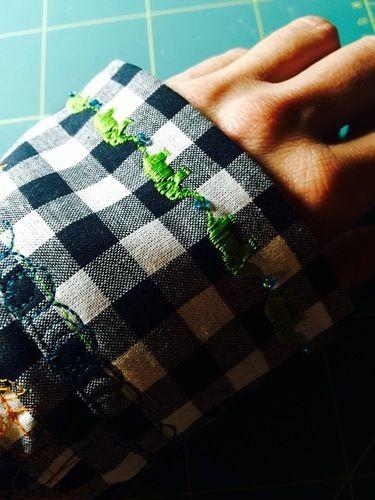 Makerist - alles andere als kleinkariert: meine erste bluse - Nähprojekte - 3