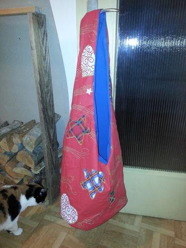 Makerist - Beuteltasche im Weihnachtslook - Nähprojekte - 1