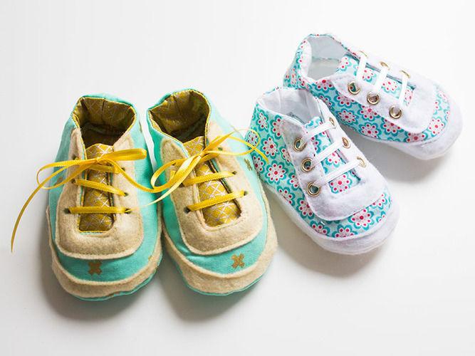 Makerist - Selbstgenähte Babysneaker - Nähprojekte - 1