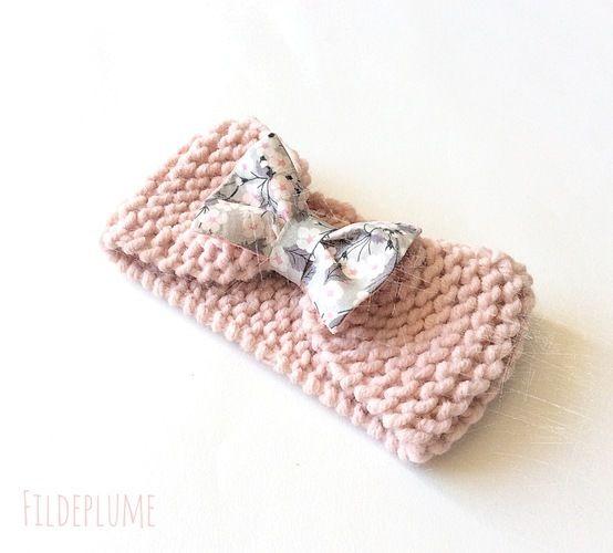 Makerist - bandeau tricot - Créations de tricot - 1