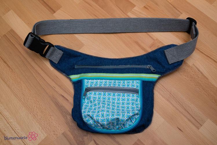 Makerist - Schnabelina HipBag Big aus Jeansstoff - Nähprojekte - 1