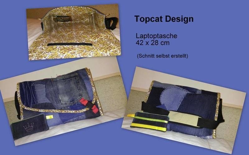 Makerist - Laptoptasche - Nähprojekte - 1