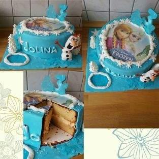Makerist - Frozen-Torte für meine Enkelin :-) - 1